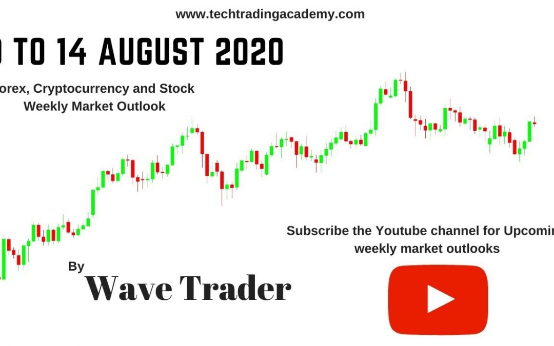 Forex, Stock and Crypto Weekly Market Outlook from 10 to 14 August 2020
