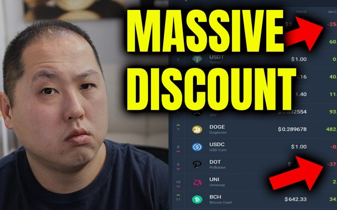 BITCOIN AND THESE ALTCOINS ARE ON MASSIVE DISCOUNT