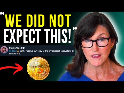 Cathie Wood – Bitcoin will ERUPT! «We did not expect THIS…» | Bitcoin Price Prediction (2021)