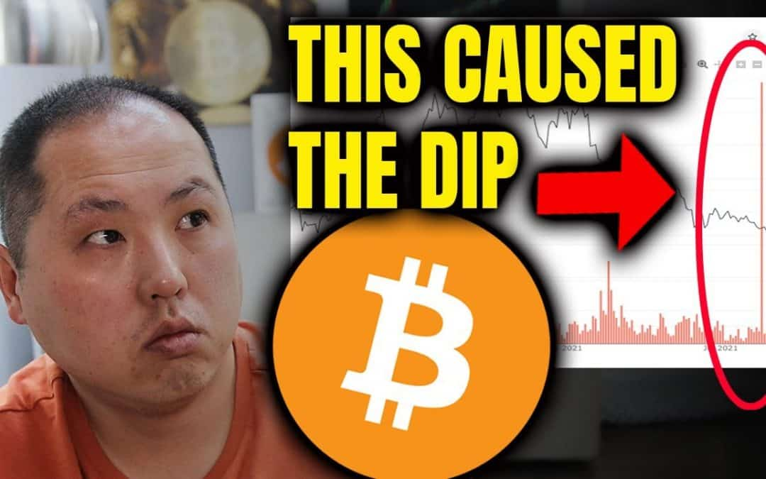 THIS CAUSED THE BITCOIN DIP   WHY I'M EVEN MORE BULLISH