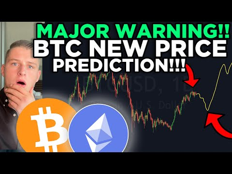 HUGE WARNING FOR ALL BITCOIN HOLDERS! DUMP INCOMING?! [realistic price prediction on Bitcoin]